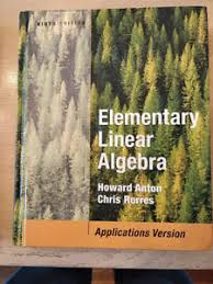 Elementary Linear Algebra 9th Edition With Solution Manual