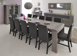 table de salle à manger contemporaine extensible chêne grisé verre