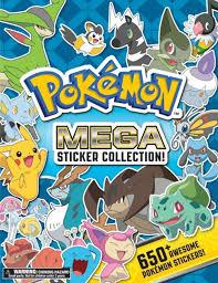Pokemon Mega Sticker Collection Pikachu Press A Book By