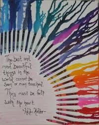 This Was An Awesome Craft Crayon Art