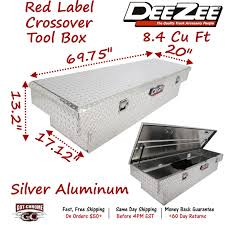 DZ8170 DEE ZEE Aluminum Truck Crossover Tool Box - Standard Single ... Amazoncom Dee Zee 8170lb Tool Box Automotive Autopartswayca Canada Truck In Tech Tips Poly Plastic Wheel Well Installation 8160sb 60 Black Steel Crossover Toolbox For Midsize And Red Label Series Bed Toolboxes Dz 8560wb Free Dz95b Single Autoaccsoriesgarage Review Specialty Narrow Weekendatvcom Storage Boxes Pickup To Heavy Duty 4 Truckaccsories Top Sider Dz59 Titan 95d Dee Zee