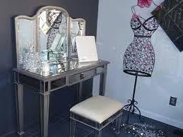 Pier 1 Hayworth Vanity Mirror And Bench
