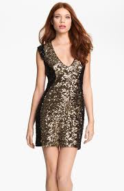 french connection black sequin dress dressed for less