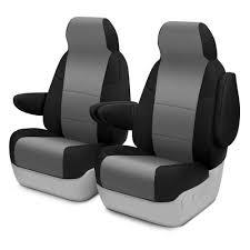 100 Neoprene Truck Seat Covers Coverking CSCF14TT9760 CRGrade 1st Row Black Medium