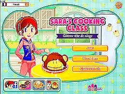 jeu ecole de cuisine de gâteau tête de singe école de cuisine de un des jeux en
