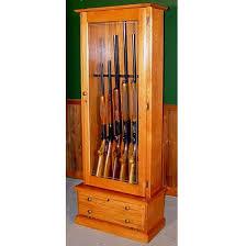 Homak Gun Cabinets Canada by Scout 406 Gun Cabinet Solid Oak 6 Gun Gs406 Oak