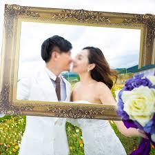 papier cadre photo booth props pour le mariage d anniversaire