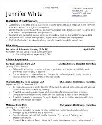 Resume For Nurses Nursing Student With Clinical Experience Format Free Download