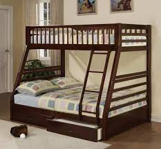 Canyon Twin Full Bunk Bed Espresso – Katy Furniture