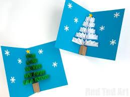 Easy Pop Up Christmas Card