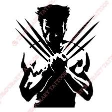 Wolverine Customize Temporary Tattoos Stickers NO352