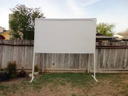 Clunky Crafts: Outdoor Projector Screen Tutorial Backyard Projector Screen Project Pictures With Capvating Bring The Movies To Your Space Living Outdoors Camp Chef Inch Portable Outdoor Movie Theater Photo How To Experience Home My New Screen For Backyard Projector 30 Hometheater Backyards Stupendous Screens For Goods Best 2017 Reviews And Buyers Guide Night Album On Imgur Camping Systems Amazoncom In A Box Dvd
