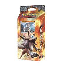 Pokemon Deck List Standard by Pokémon Tcg Sun U0026 Moon U2014burning Shadows Rock Steady Theme Deck