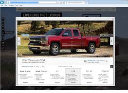 Check Out The New 2014 Silverado Microsite With Its New