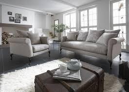 wohnideen sofa galdana grau shop landhaus look wohnen