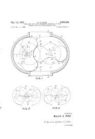 Dresser Roots Blowers Compressors by Patent Us3089638 Impellers For Fluid Handling Apparatus Of The