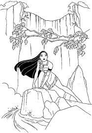 Free Colouring Pages Disney Princess Pocahontas For Preschool 55841