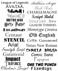 Download Harry Potter Font Microsoft Word Free