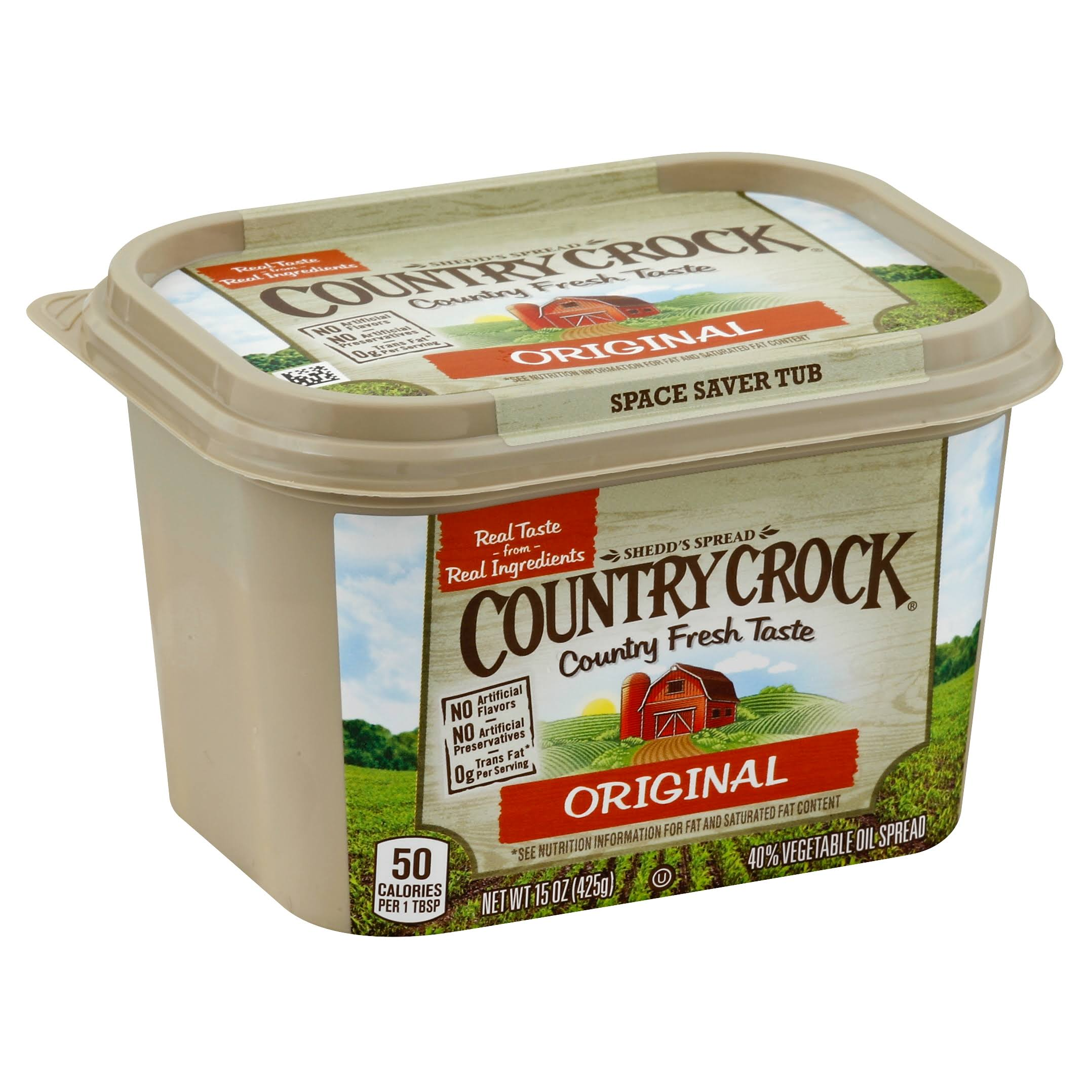 Country Crock Original Vegetable Oil Spread - 15 oz