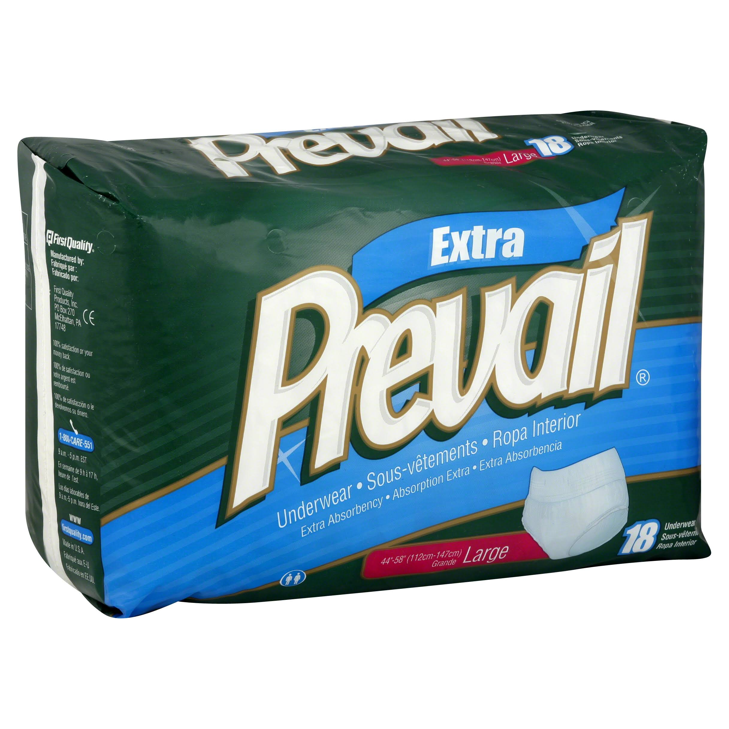 Prevail Underwear - 18 Large
