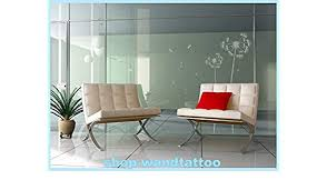huis glasdekoraufkleber pusteblume aufkleber glastür tür