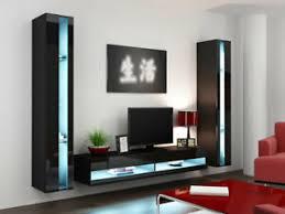 details zu wohnzimmer set lucas new 3 mediawand hängwand wohnwand tv wand hochglanz modern