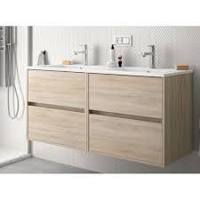 badmöbel set badezimmer möbel 120 cm hänge eichen caledonia farbe mit waschtisch