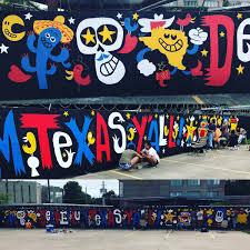 Deep Ellum Murals Address by Deep Ellum Mural Day 2 Jorge Gutierrez U0026 Sandra Equihua Fan Page