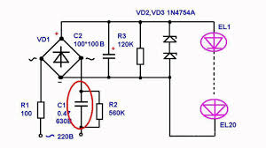 simple power supply circuits for led ls