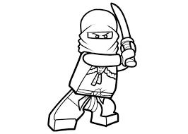Amazing Ninja Coloring Page 35 For Books With