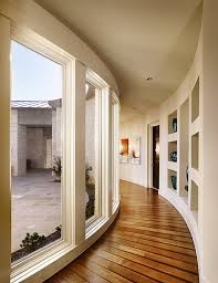 View In Gallery Curved Hallway