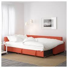 friheten corner sofa bed with storage skiftebo dark orange ikea