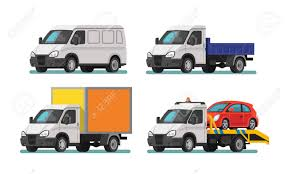 100 Tow Truck From Cars Set Of Delivery And Vector Illustration Royalty