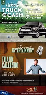 Win A Truck And Cash, Diamond Jo, Northwood, IA Allnew Innovative 2017 Honda Ridgeline Wins North American Truck Win Your Dream Pickup Bootdaddy Giveaway Country Fan Fest Fords Register To How Can A 3000hp 1200 Mile Road Race Ask Street Racing Bro Science On Twitter Last Chance Win The Truck Car Hacking Village Hack Cars A Our Ctf Truck Theres Still Time Blair Public Library Win 2 Year Lease Of 2019 Gmc Sierra 1500 1073 Small Business Owners New From Jeldwen Wire