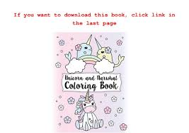 Unicorn And Narwhal Coloring Book Gorgeous Relaxing Kids Colorin
