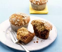 haferflocken marzipan muffins