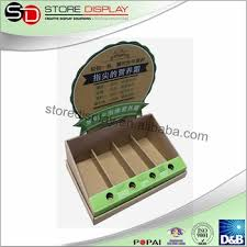 Customized Cardboard Displayer With Creative Deisgn Counter Display Box Division Plate Skin Care