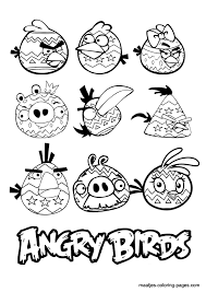 Angry Bird Coloring Pages Pdf Many Interesting Cliparts