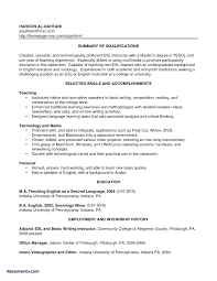 Resume For Substitute Teacher Sample Resumes Teachers With No Experience Lovely Gallery Of Guide
