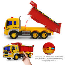 1:16 Dump Trucks Toy Construction Cars MODEL Builder Toys Kid ...