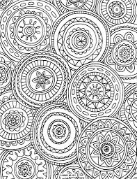 Mandala Very Detailed Coloring Pages