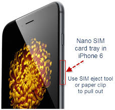 How to insert SIM card in iPhone 4 iPhone 4S iPhone 5 iPhone