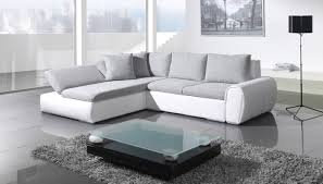 White Leather Sofa Bed Ikea by Corner Sofa Bed White Grey Minimalist Apartement Eva Furniture