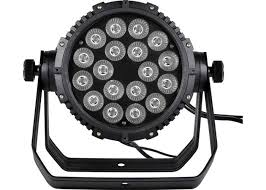 Waterproof 18 15W 5 in 1 LED Par Can Lights Small Professional