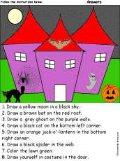 Halloween Picture Books For Third Graders by Halloween Crafts And Activities Enchantedlearning Com