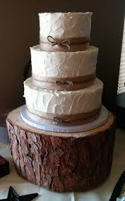 Pleasant Rustic Burlap Wedding Cake Fresh Ideas Three Tier With Please Allow At Flickr