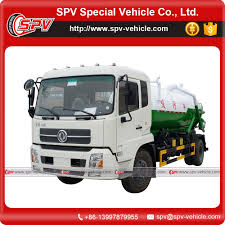 Dongfeng 10000 Liter Sewer Vacuum Suction Truck - Buy 10000 Liter ...