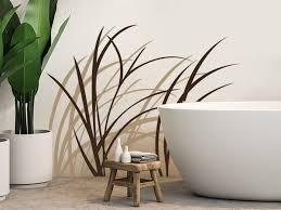 wandtattoo gräser lebendiges design für die wand
