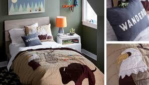 Boys Outdoor Themed Bedroom