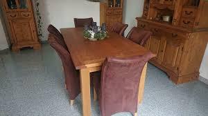 möbel esszimmermöbel massiv vitrinen buffet esstisch u stühle